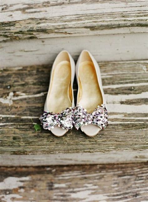 sparkly flat shoes for wedding flat wedding shoes for stylish comfort modwedding