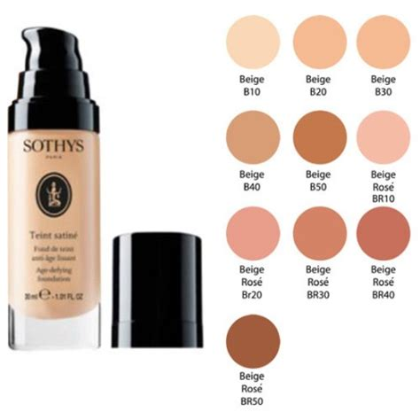 sothys age defying foundation  oz shop  skin