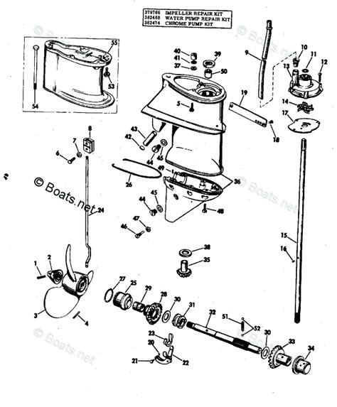 boats net evinrude parts evinrude outboard parts by year 1971 oem parts diagram for