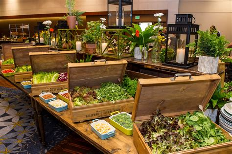 salad buffet at hyatt regency atlanta embassy suites menu ideas p