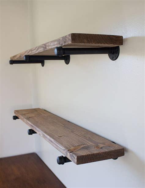 Shelves pipe wood pipe wall shelf gas pipe shelf long wall shelf iron pipe wall shelf laundry