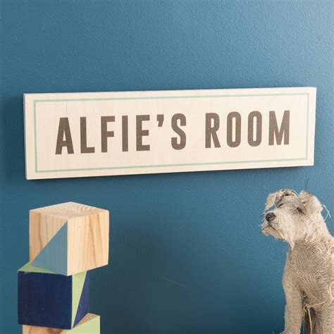 room name signs personalised wooden room name sign oakdenedesigns
