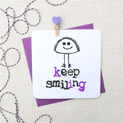 Smiling General keep smiling general greeting card by parsy card co