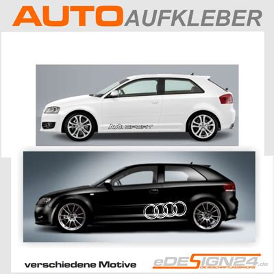 Audi Quatro Aufkleber by E67 Audi Ringe Sline Quattro Sticker Auto Aufkleber A3 Ebay