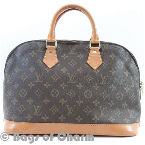 Lv Alma Mono Owl Louis Vuitton Monogram Alma Bag Lvjp352 Bags Of