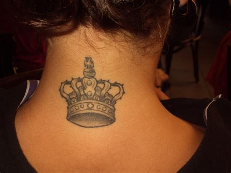 girl crown tattoos crown tattoos designs ideas and meaning tattoos for you