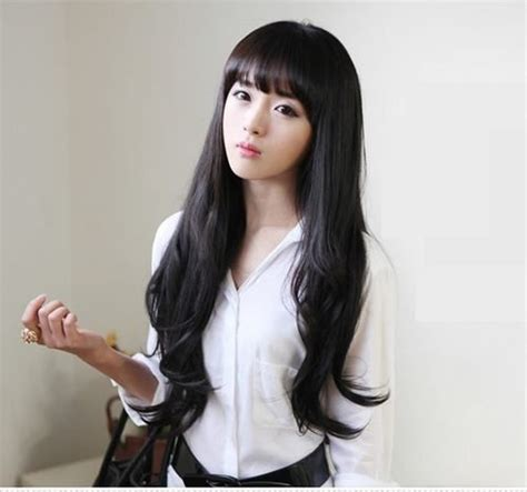 brown and black asian hair color trends 2015 asian hair black color with bangs trends 2015