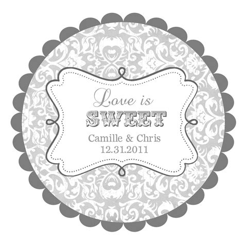 Wedding Labels by Is Sweet Wedding Labels Labels Stickers By