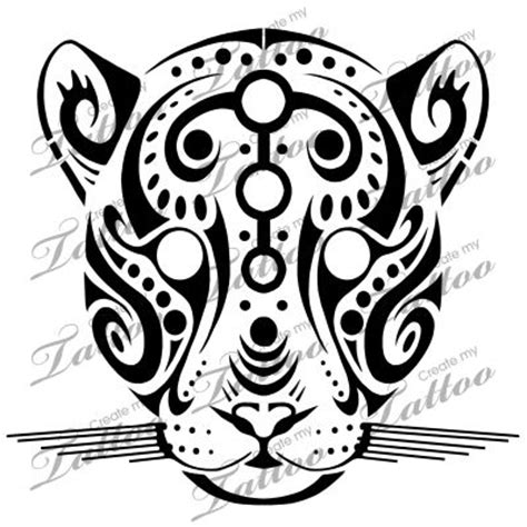 tribal tattoo jaguar marketplace tribal jaguar 14846 createmytattoo
