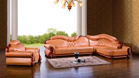 Leather Sofa Made In China by European Leather Sofa Set Living Room Sofa Made In China