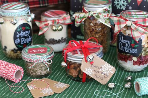 A Handmade Gift - healthy gifts in a jar 7 recipes tips for