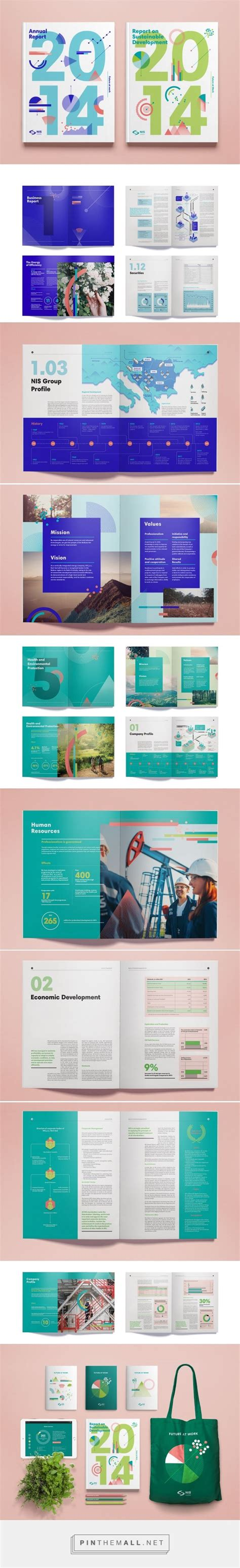 graphic design grid layout pdf nis annual report 2014 on behance education annual