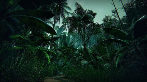 Tropical Jungle tropical forest by manufactura k4 in environments ue4