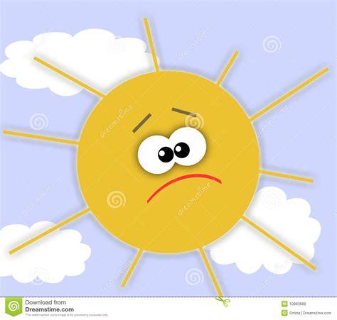 sun l for sad sad sun royalty free stock images image 10983689