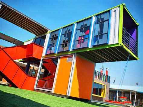 Architecture Design Kits Technicolor Seed Library Shipping Containers Provide A