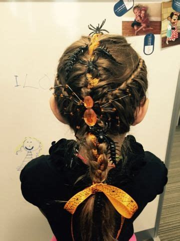 grandma hairstyles halloween grandma nat s braid brigade halloween hair w spiders