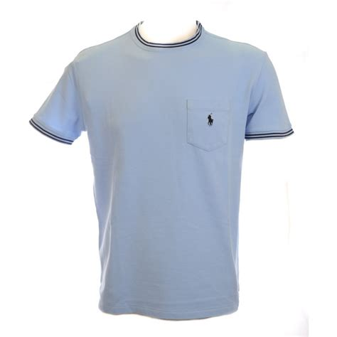 Tshirt Polo polo ralph comfort fit t shirt in light blue polo ralph from n22 menswear uk