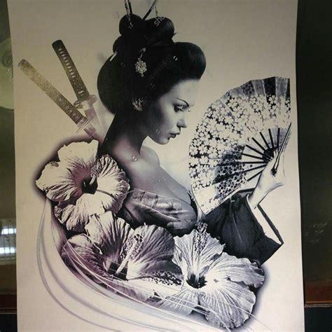 oriental geisha tattoo designs geisha tattoo images designs