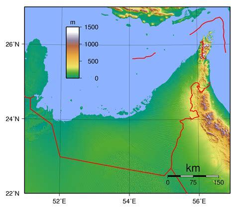 uae road map maps of united arab emirates detailed map of uae in