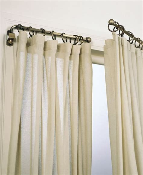 hinged curtain rod umbra 30 36 ball swing curtain rod window treatments