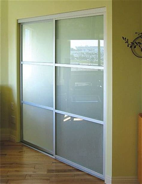 glass closet doors for bedrooms 8 best images about sliding frosted aluminium doors on
