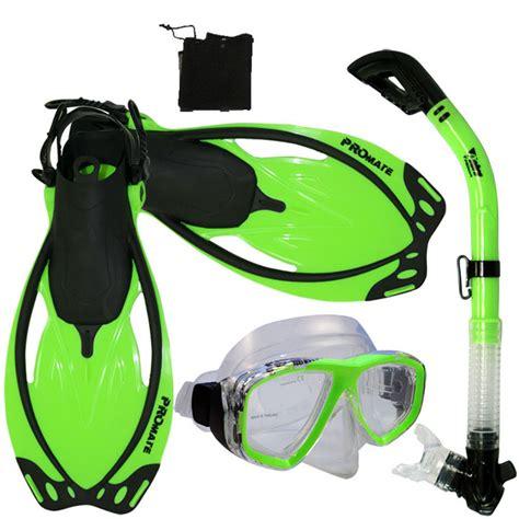 Snorkel Mask Snorkling Mask Scuba Mask Snorkling Mask snorkeling dive gear mask snorkel fins mesh bag