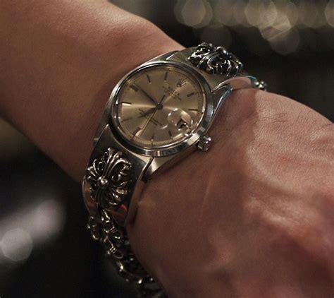 GothicBuzz   Stars with Gothic fashion sense, the Chrome Hearts way!: Chrome Hearts Rolex 18K