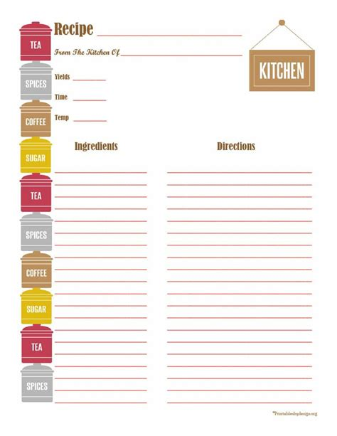 free recipe template for cookbook free recipe template 44 cookbook templates recipe book recipe cards