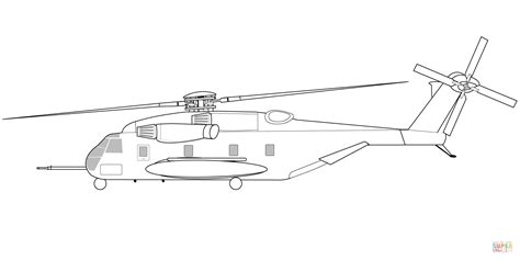mario helicopter coloring page ausmalbild sikorsky ch 53e super stallion hubschrauber