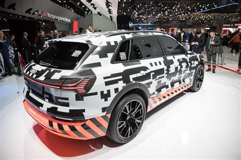 Audi E Tron Test by Audi Begins Public E Tron Test In Geneva With Eye Catching