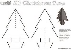 3d Christmas Tree Card Template 17 Best Photos Of 3d Christmas Paper Crafts Templates 3d