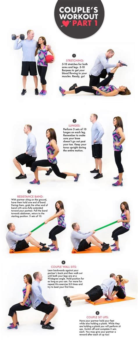 17 best ideas about couples workout routine on