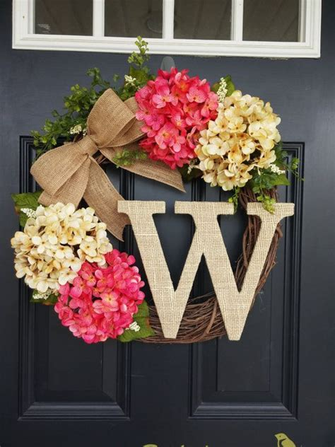 wreath ideas for front door 25 best ideas about summer wreath on pinterest door