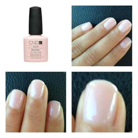 shellac manicure colors cnd shellac beau this is a pink based colour