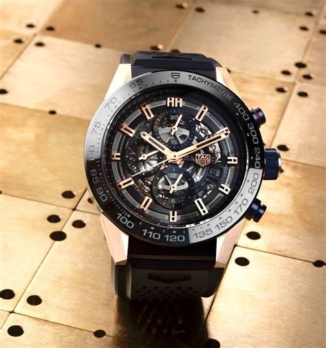 Tag Heuer Skeleton Leather Rbgn 03 2016 tag heuer heuer 01 collection the home of
