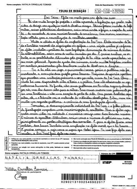 Redações Nota 1.000 Enem 2013/2014 » Pré-Vestibular