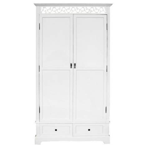 White Wardrobe Armoire by White 2 Drawer And 2 Door Armoire Wardrobe Forever