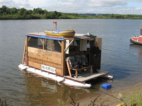 Handmade Houseboats - mini pontoon boat www pixshark images