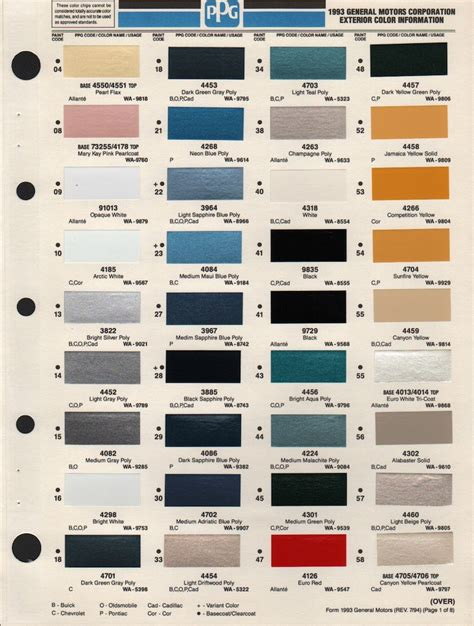 cross reference automotive paint colors autos post