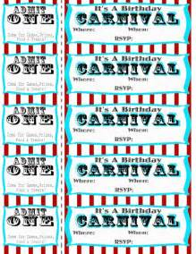 carnival ticket template seeshellspace carnival free carnival circus birthday