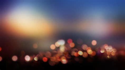 Blurred Lights by Blurred City Lights Walldevil