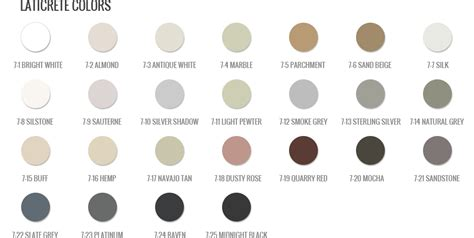 l shades ft myers fl color chart grout colors grout shield color chart
