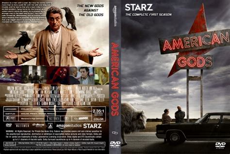 american gods season 1 dvd covers labels by covercity