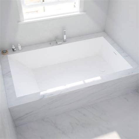 baignoire corian baignoire sur mesure en corian 174 224 encastrer salle de