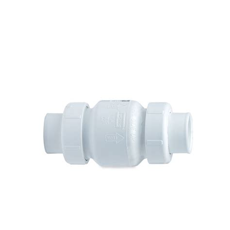spears swing check valve spears spears true union pvc swing check valve 1 25