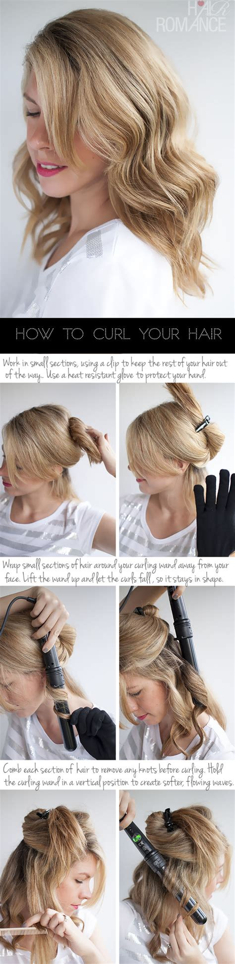 hair tutorial wand some tips on how to make your straight hair curly and