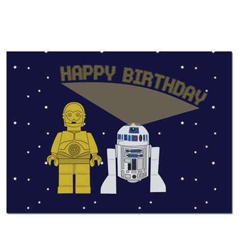 printable birthday cards star wars c3po r2d2 lego star wars birthday card