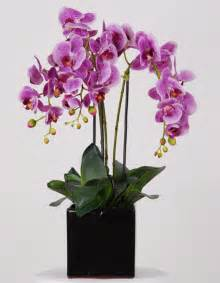 artificial orchids beautiful artificial silk flowers arrangements for home decoration design swan
