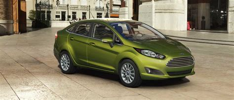 Pictures of All Nine 2018 Ford Fiesta Exterior Color Choices