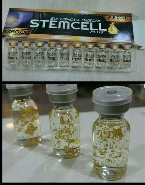 Serum Bio Gold dermax superskin dms 360 supernova stemcell plus 24k gold